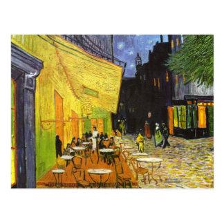 Van Gogh Cafe Terrace at Night Postcard