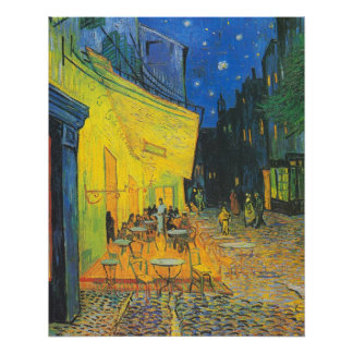 Van Gogh Cafe Terrace at Night Poster