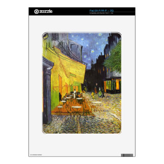 Van Gogh Cafe Terrace at Night Decal For iPad