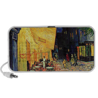 Van Gogh Cafe Terrace At Night Notebook Speaker