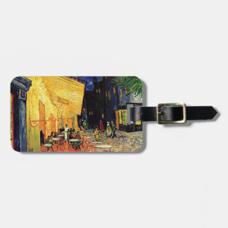 Van Gogh Cafe Terrace At Night Tag For Luggage