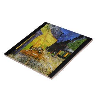 "Van Gogh, ""Cafe Terrace at Night"" Tile"