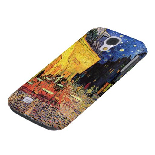 Van Gogh; Cafe Terrace at Night, Vintage Fine Art Samsung Galaxy S4 Covers