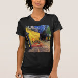 Van Gogh; Cafe Terrace at Night, Vintage Fine Art Tee Shirt