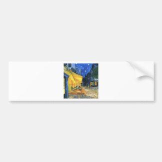 Van Gogh Cafe Terrace Bumper Sticker