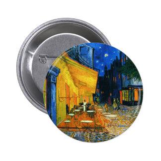 Van Gogh Café Terrace Button