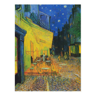 Van Gogh | Cafe Terrace Change of Address Postcard