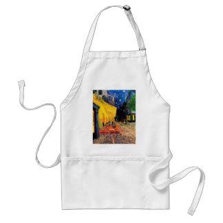 Van Gogh Cafe Terrace (F467) Vintage Fine Art Apron