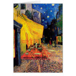 Van Gogh Cafe Terrace (F467) Vintage Fine Art Stationery Note Card