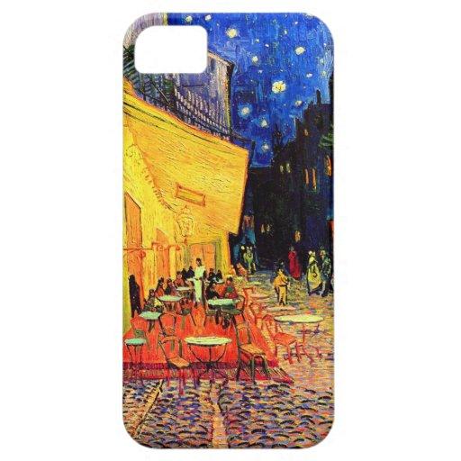 Van Gogh Cafe Terrace (F467) Vintage Fine Art iPhone 5 Cases