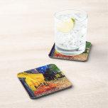 Van Gogh Cafe Terrace (F467) Vintage Fine Art Coasters