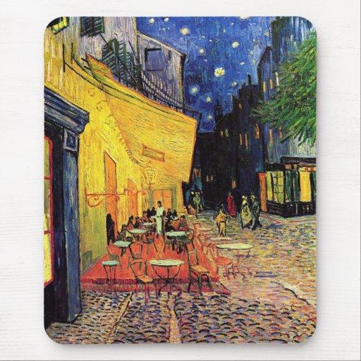 Van Gogh Cafe Terrace (F467) Vintage Fine Art Mouse Pad