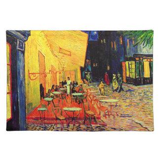 Van Gogh Cafe Terrace (F467) Vintage Fine Art Placemats