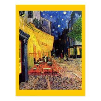Van Gogh Cafe Terrace F467 Vintage Fine Art Post Card