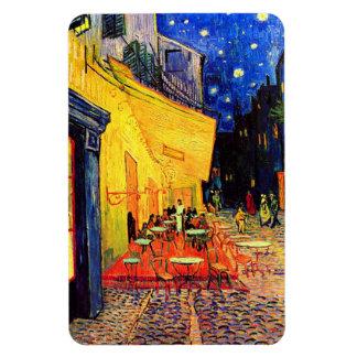 Van Gogh Cafe Terrace (F467) Vintage Fine Art Rectangular Photo Magnet