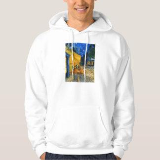 Van Gogh Café Terrace hoodie