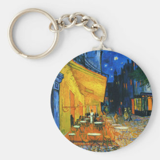 Van Gogh Café Terrace Key Chain