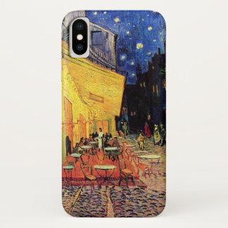Van Gogh Cafe Terrace on Place du Forum, Fine Art iPhone X Case