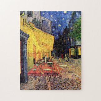 Van Gogh Cafe Terrace on Place du Forum, Fine Art Jigsaw Puzzle