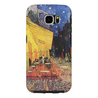Van Gogh Cafe Terrace on Place du Forum, Fine Art Samsung Galaxy S6 Cases