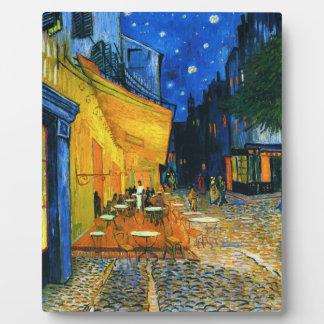 Van Gogh Café Terrace Plaque