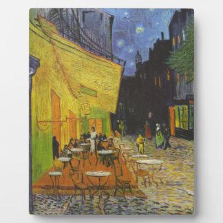 Van Gogh Cafe Terrace Post-Impressionist Plaque