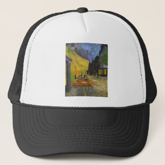Van Gogh Cafe Terrace Post-Impressionist Trucker Hat