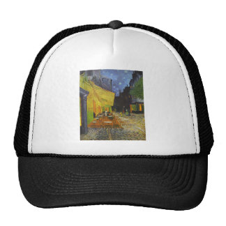 Van Gogh Cafe Terrace Post-Impressionist Trucker Hat