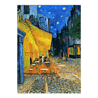Van Gogh - Cafe Terrace Poster