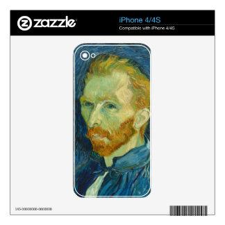 Van Gogh Calcomanía Para iPhone 4S