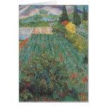 Van Gogh - campo con las amapolas (1889) Felicitacion