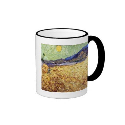 Van Gogh - campo de trigo con el segador Taza