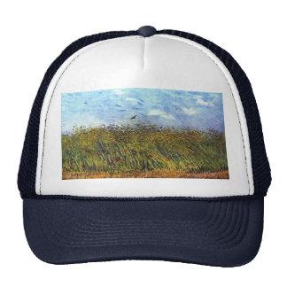 Van Gogh: Campo de trigo con las amapolas y la Gorro