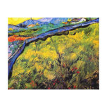 Van Gogh - campo del trigo de primavera en la Impresión En Lienzo Estirada