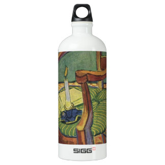 Van Gogh Candle Aluminum Water Bottle