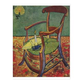 Van Gogh Candle Postcard