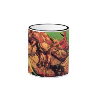 Van Gogh - cangrejo en su parte posterior Taza De Dos Colores
