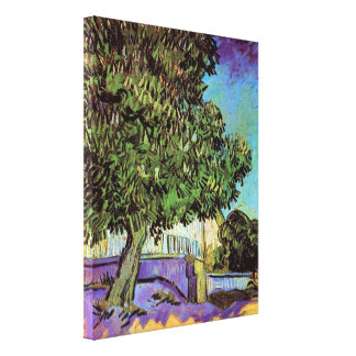 Van Gogh - Chestnut Tree In Blossom Stretched Canvas Prints