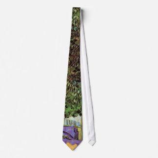 Van Gogh - Chestnut Tree In Blossom Neck Tie