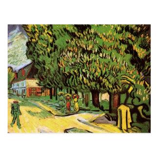 Van Gogh Chestnut Trees in Blossom, Vintage Art Post Card