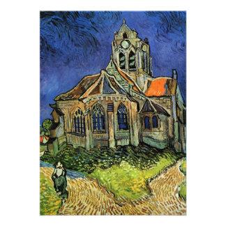 Van Gogh Church at Auvers Custom Announcements