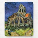 Van Gogh Church at Auvers Mousepad
