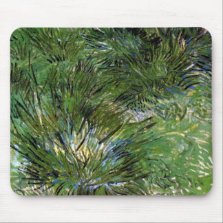 Van Gogh - Clumps Of Grass Mouse Pads