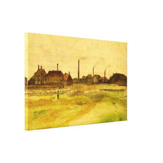 Van Gogh Coalmine in the Borinage, Fine Art Canvas Print