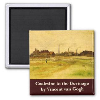 Van Gogh Coalmine in the Borinage, Fine Art Magnet