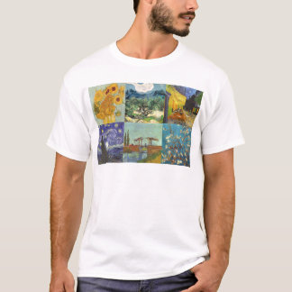 Van Gogh Collage T-Shirt