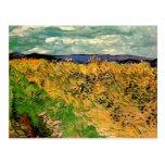 Van Gogh; Cornflowers del campo de trigo, granja Tarjetas Postales