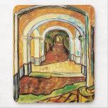 Van Gogh - Corridor Of Saint Paul Hospital Mouse Pad