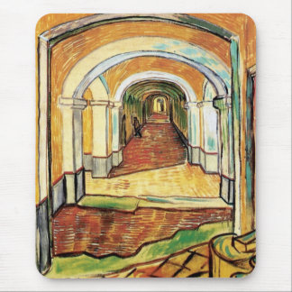 Van Gogh - Corridor Of Saint Paul Hospital Mouse Pad