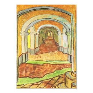 Van Gogh, Corridor Saint Paul Asylum, Fine Art Card